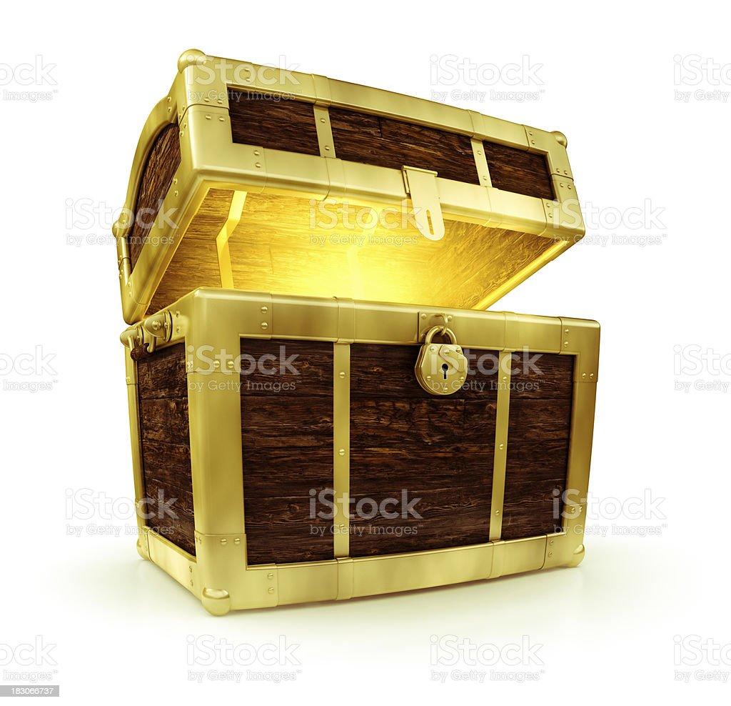 Treasure Chest stock photo