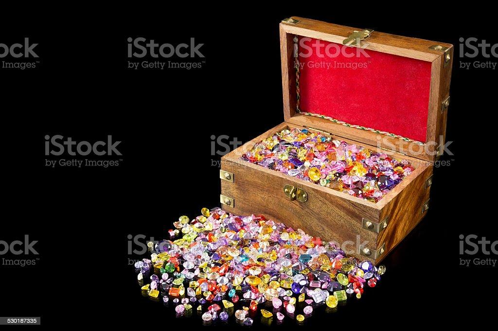 Schatzkiste Lizenzfreies stock-foto