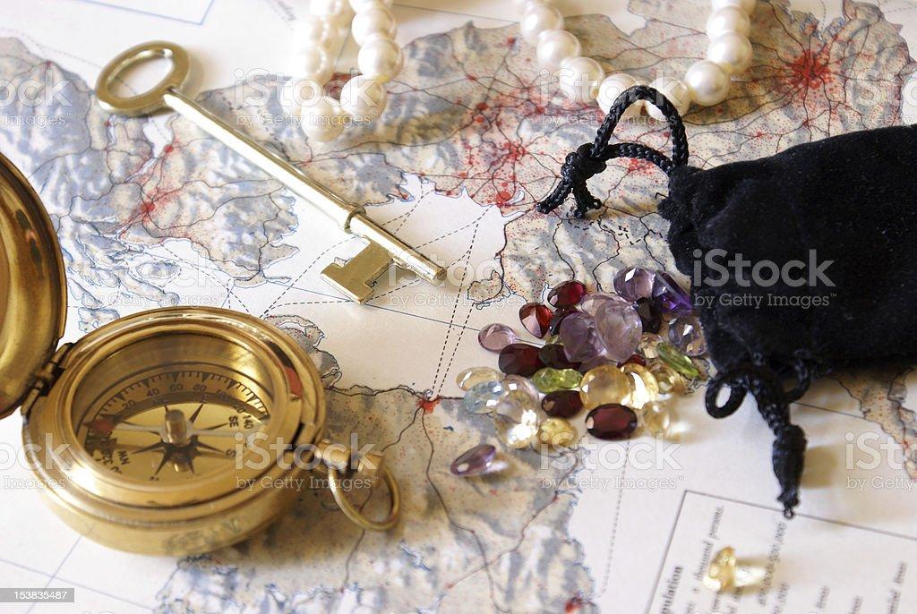 Treasure Hunt royalty-free stock photo