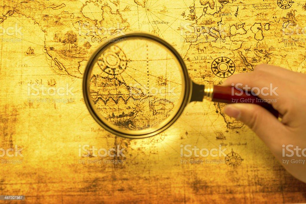 Treasure Hunting stock photo