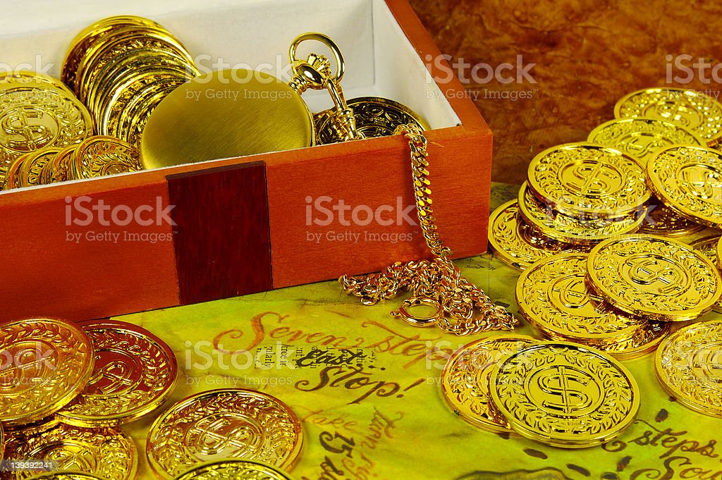 Treasure royalty-free stock photo