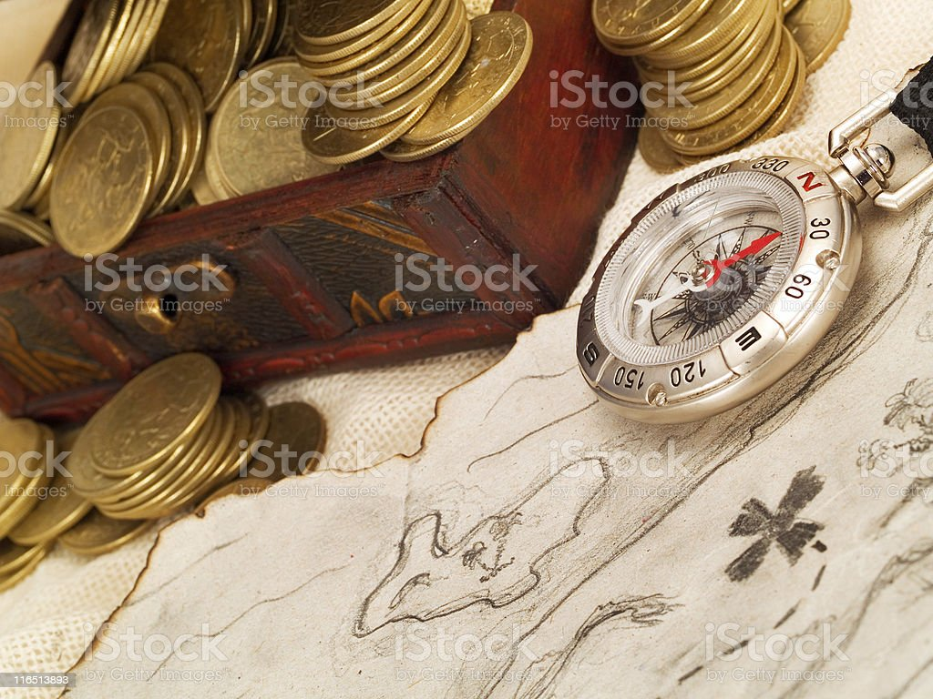 Treasure Waiting for You royalty-free stock photo