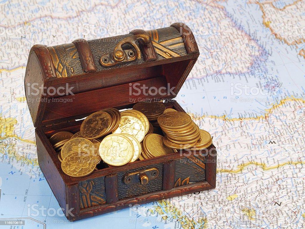 Treasure Waiting for You stock photo
