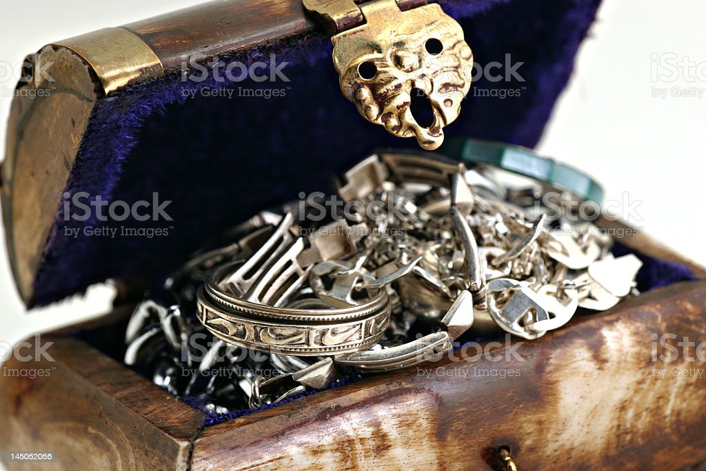 treasurechest1 royalty-free stock photo