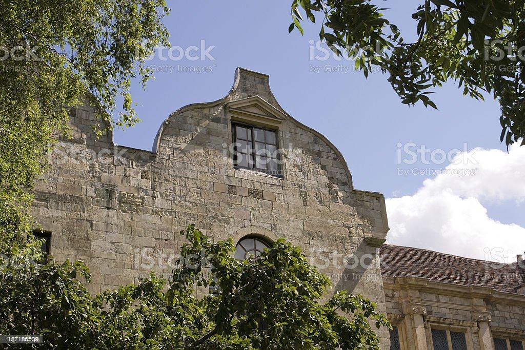 Treasurer's House detail stock photo