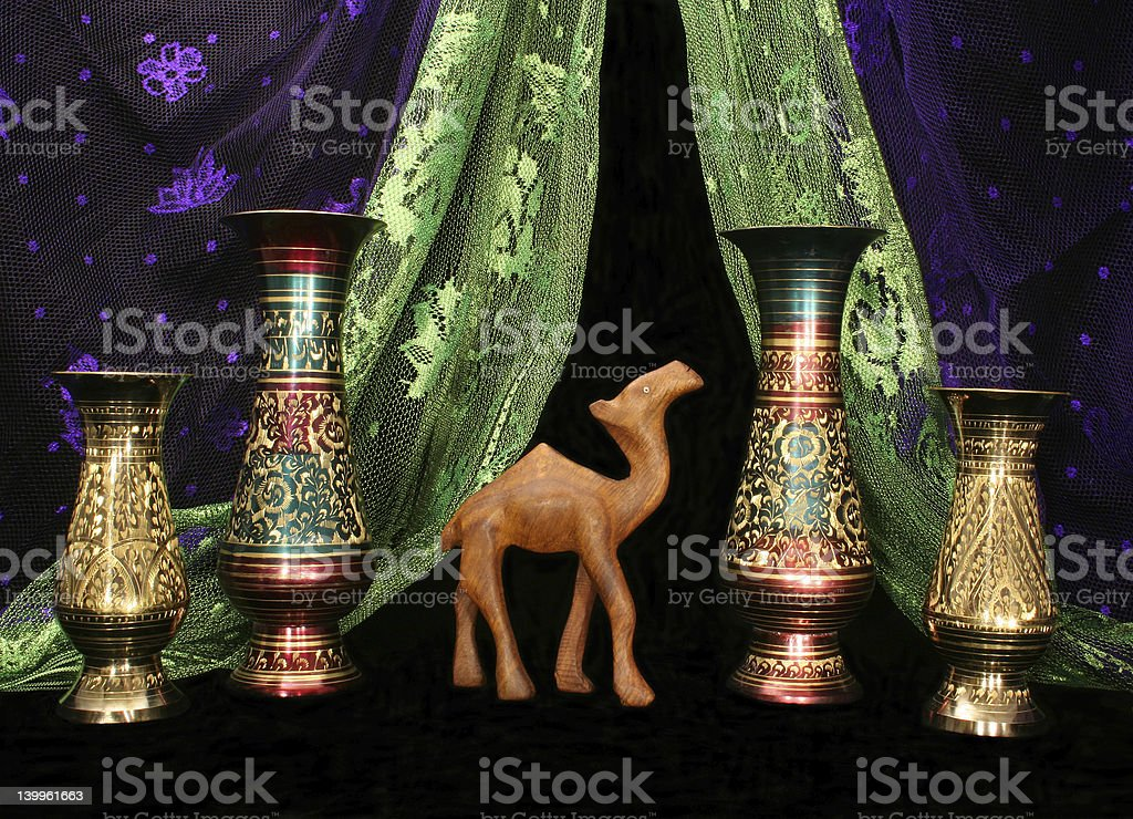 Treasures From The Middle East royalty-free stock photo