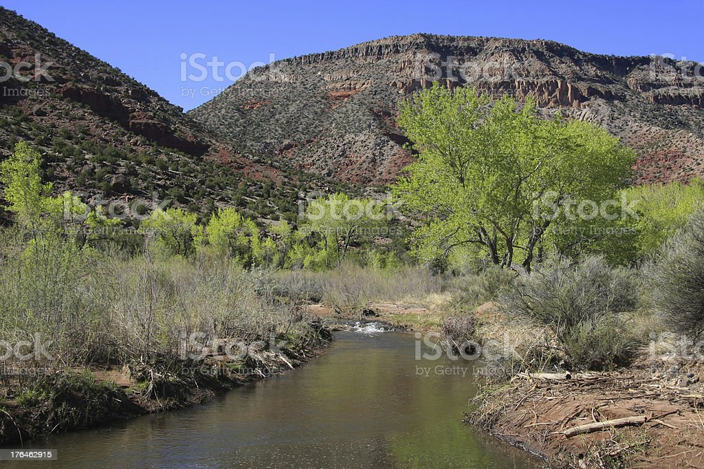 Treasures of New Mexico stock photo
