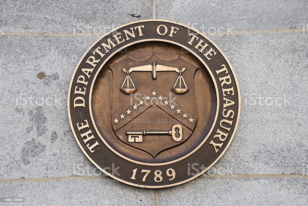 U.S. Treasury Department stock photo