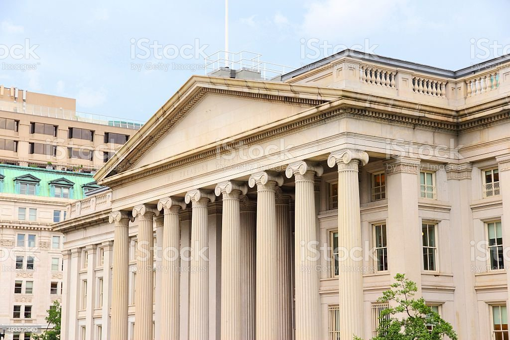 Treasury Department stock photo