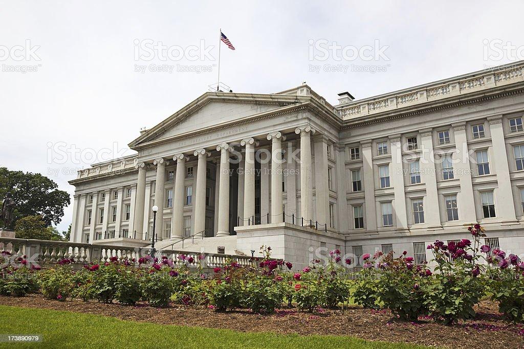 US Treasury Department #1 XXXL stock photo
