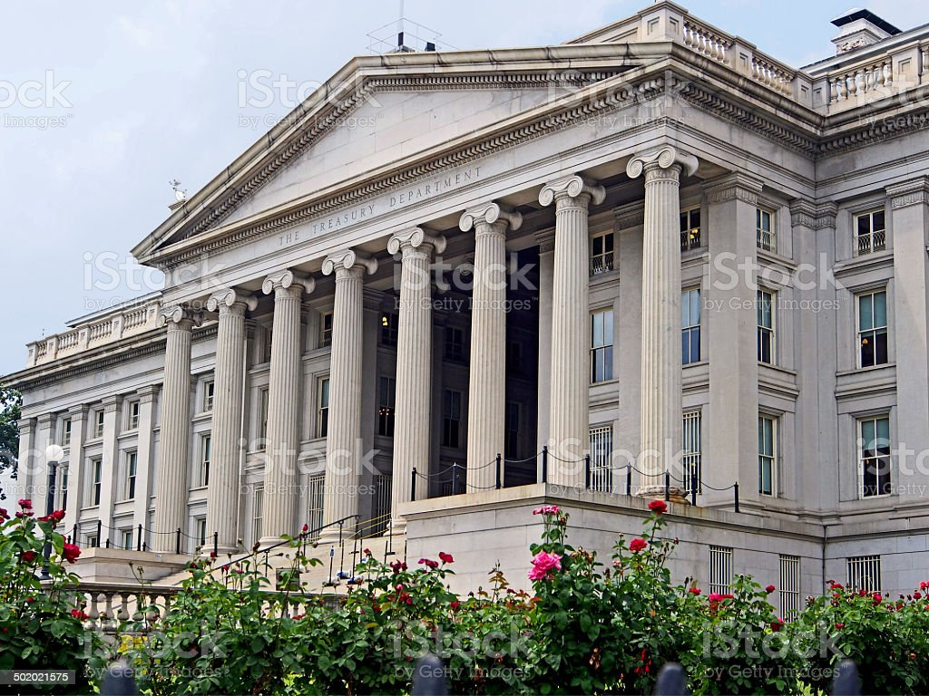 US Treasury stock photo