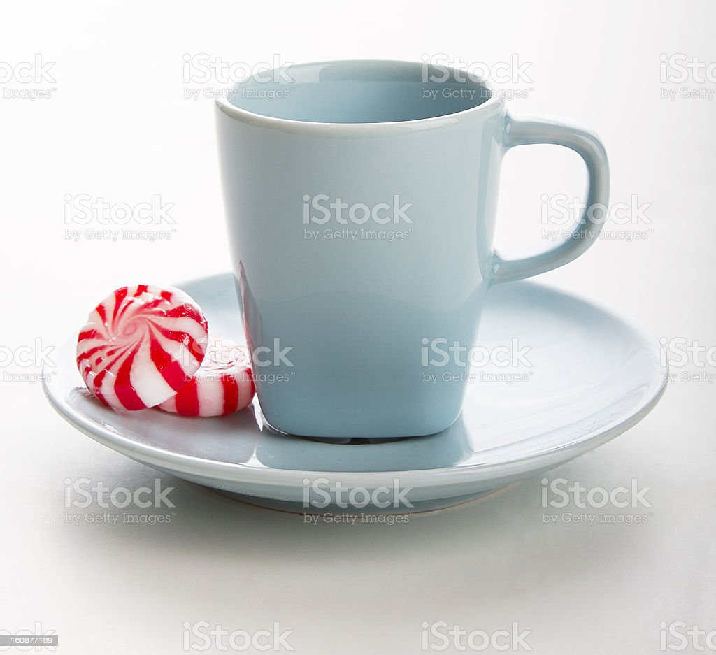 treat a cup royalty-free stock photo