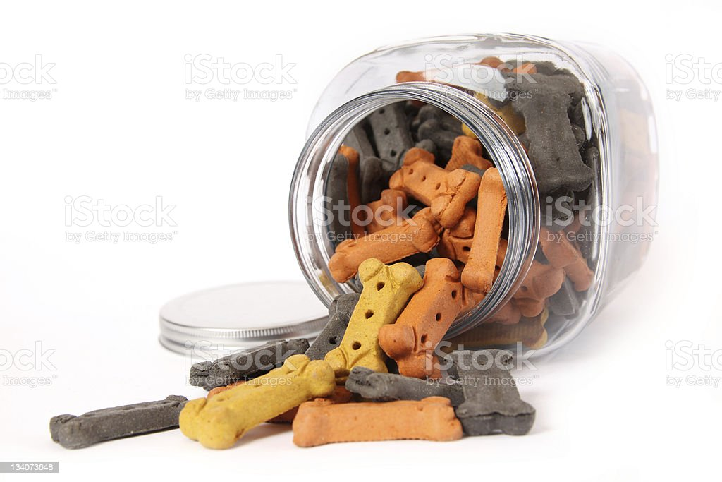 Treat Jar stock photo