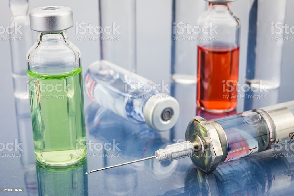 Treatment and prevention stock photo