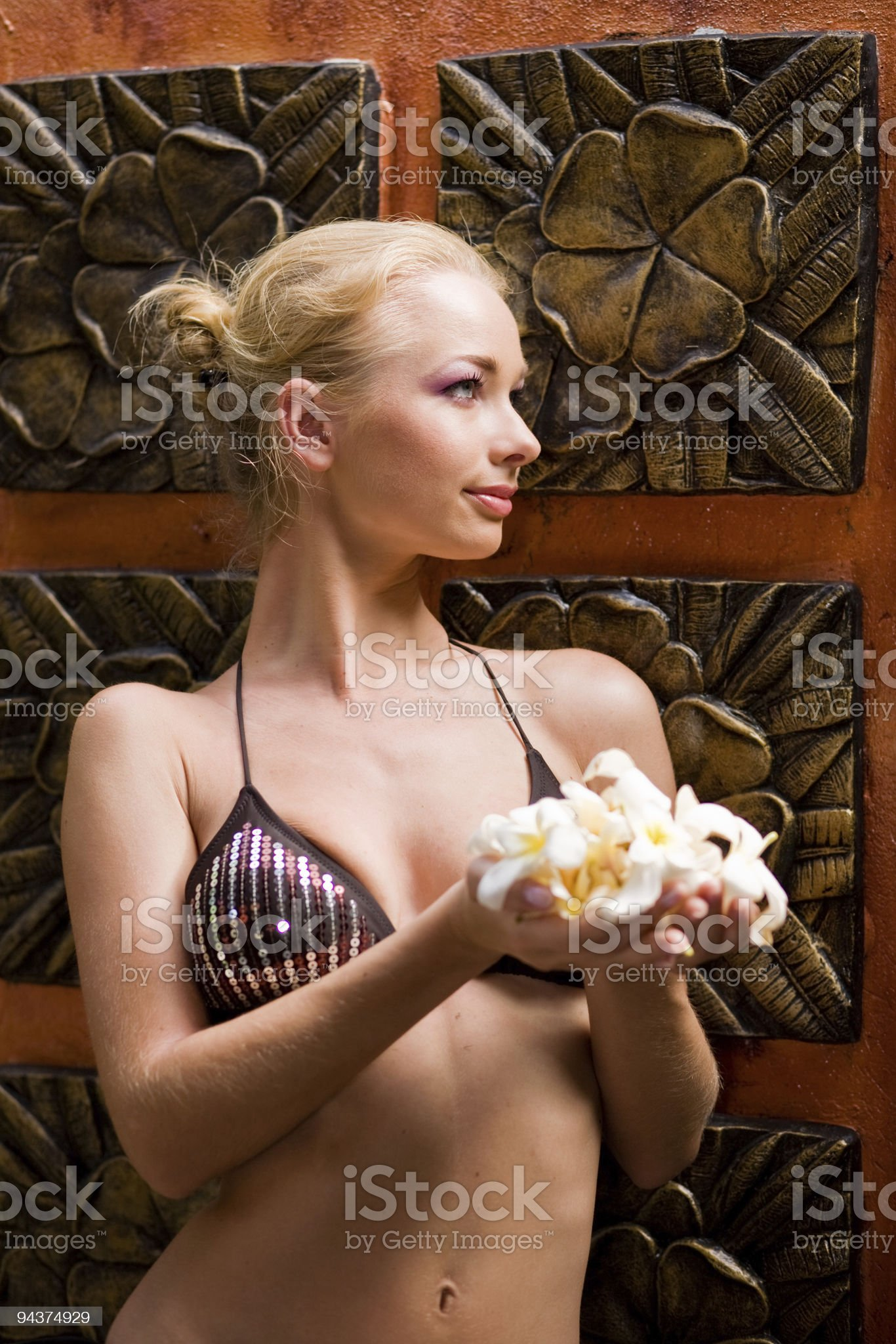 Treatment in spa royalty-free stock photo