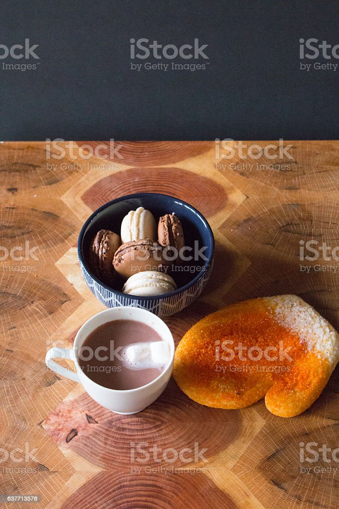 Treats for a cold Day stock photo