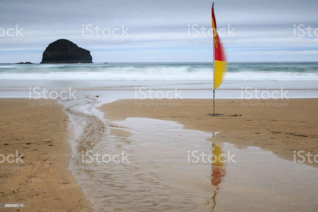 trebarwith strand stock photo
