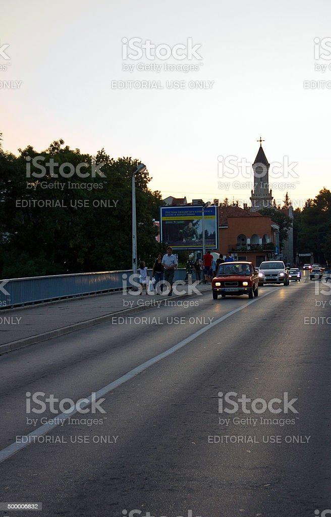 Trebinje Scene stock photo