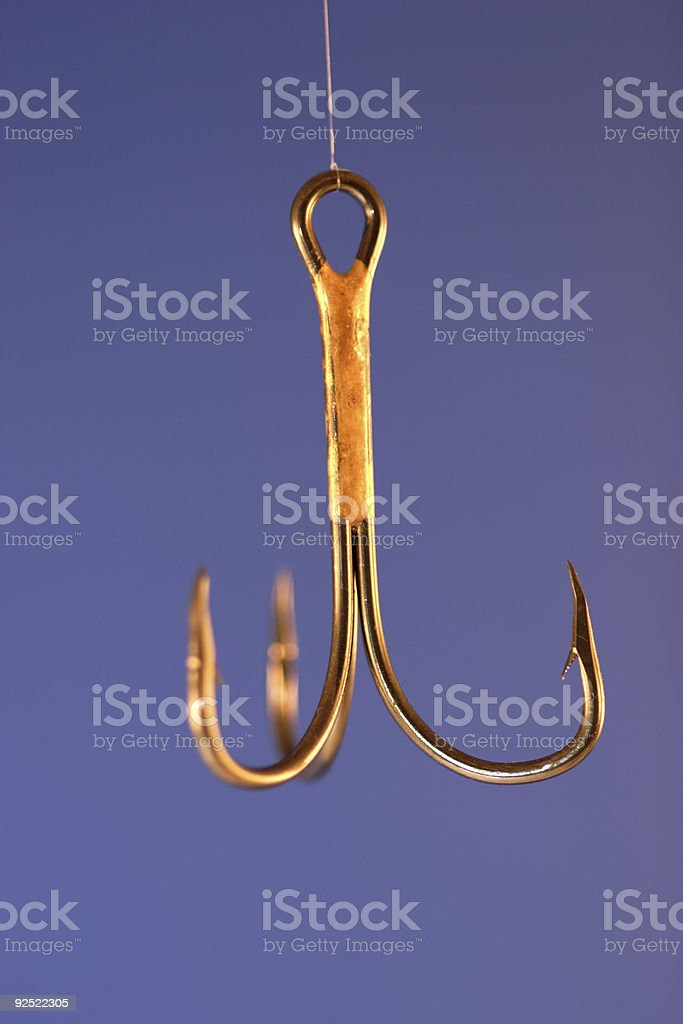 trebled hook royalty-free stock photo