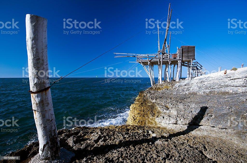 Trebuchet - Apulia, Italy stock photo
