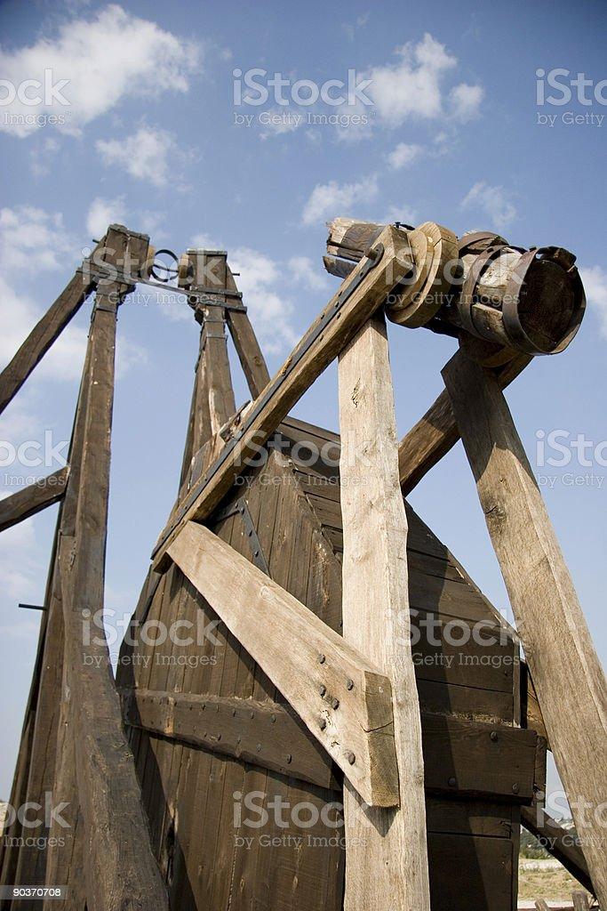 trebuchet stock photo