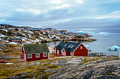 Treditional house in Greenland