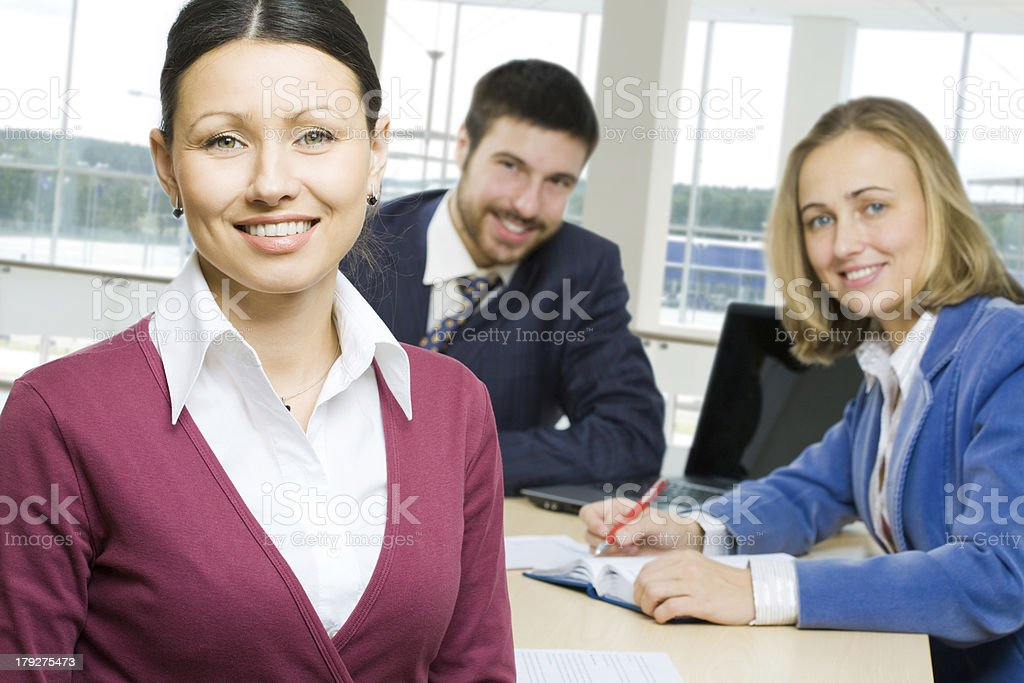 Tree business people royalty-free stock photo