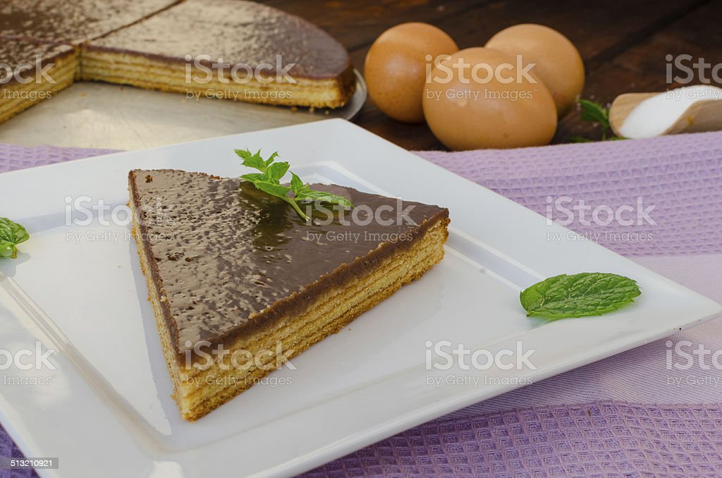 Tree cake stock photo