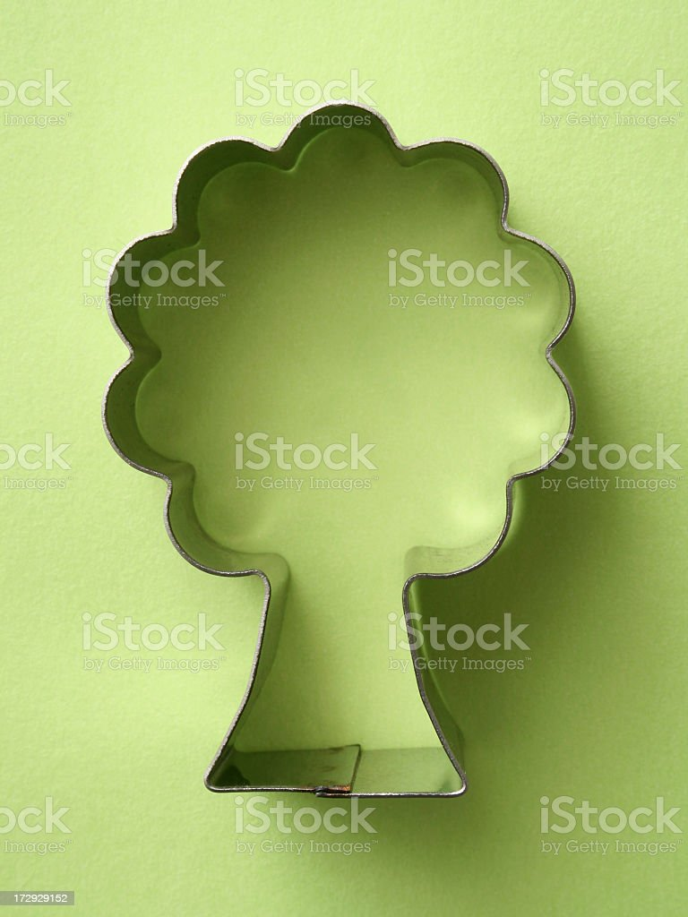 Tree cutter royalty-free stock photo