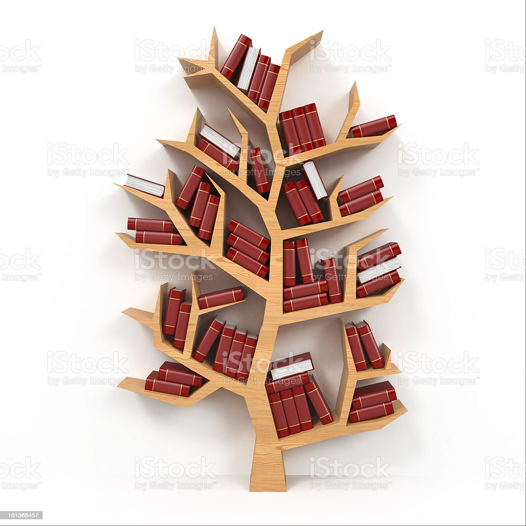 Tree of knowledge. royalty-free stock vector art