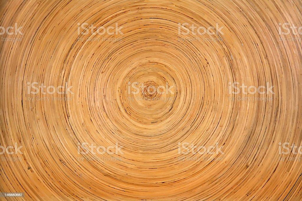Tree Rings Textured stock photo