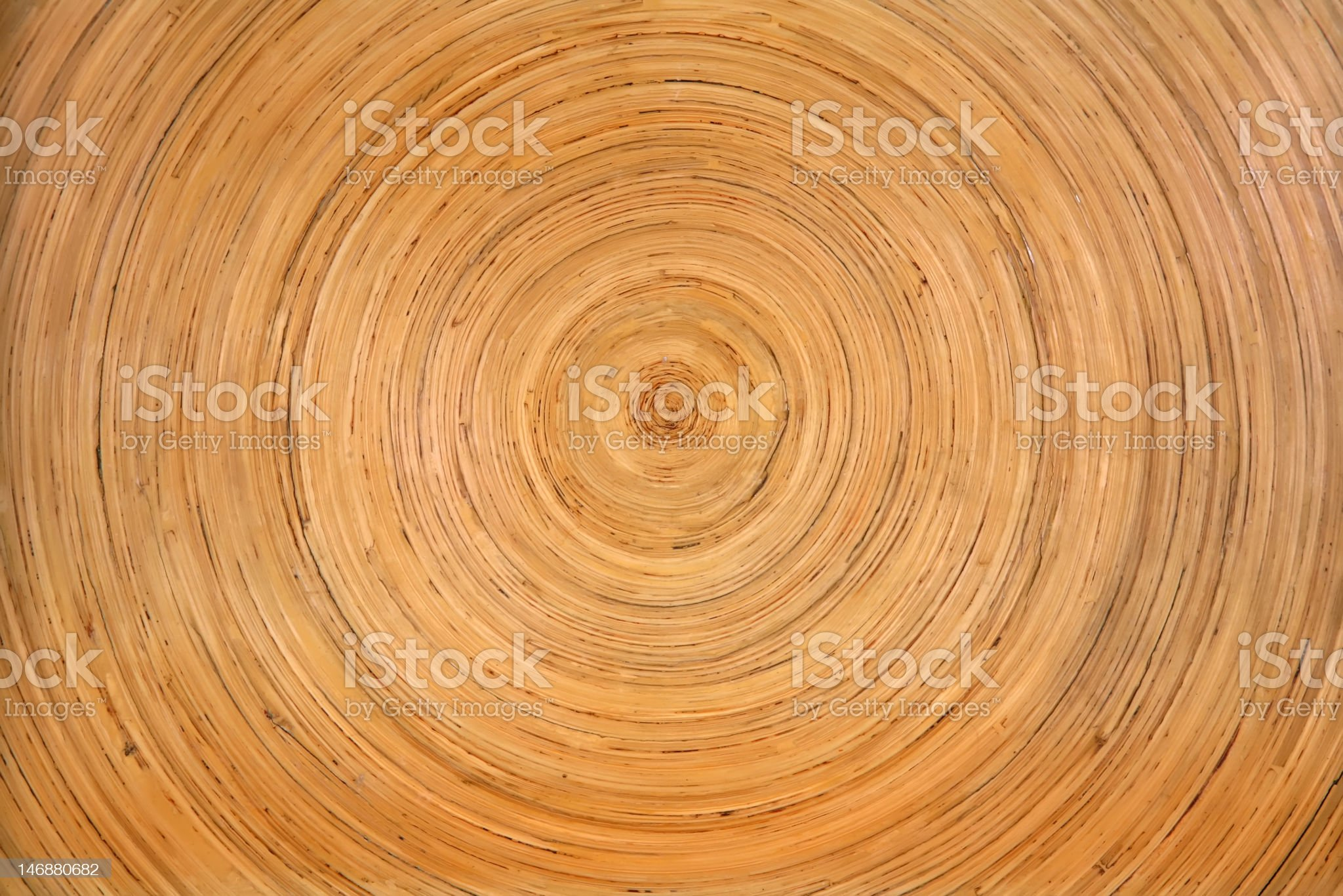 Tree Rings Textured royalty-free stock photo