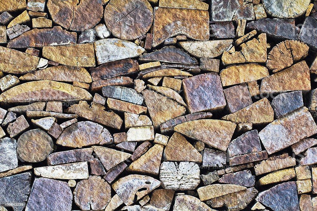 tree stumps  surface royalty-free stock photo
