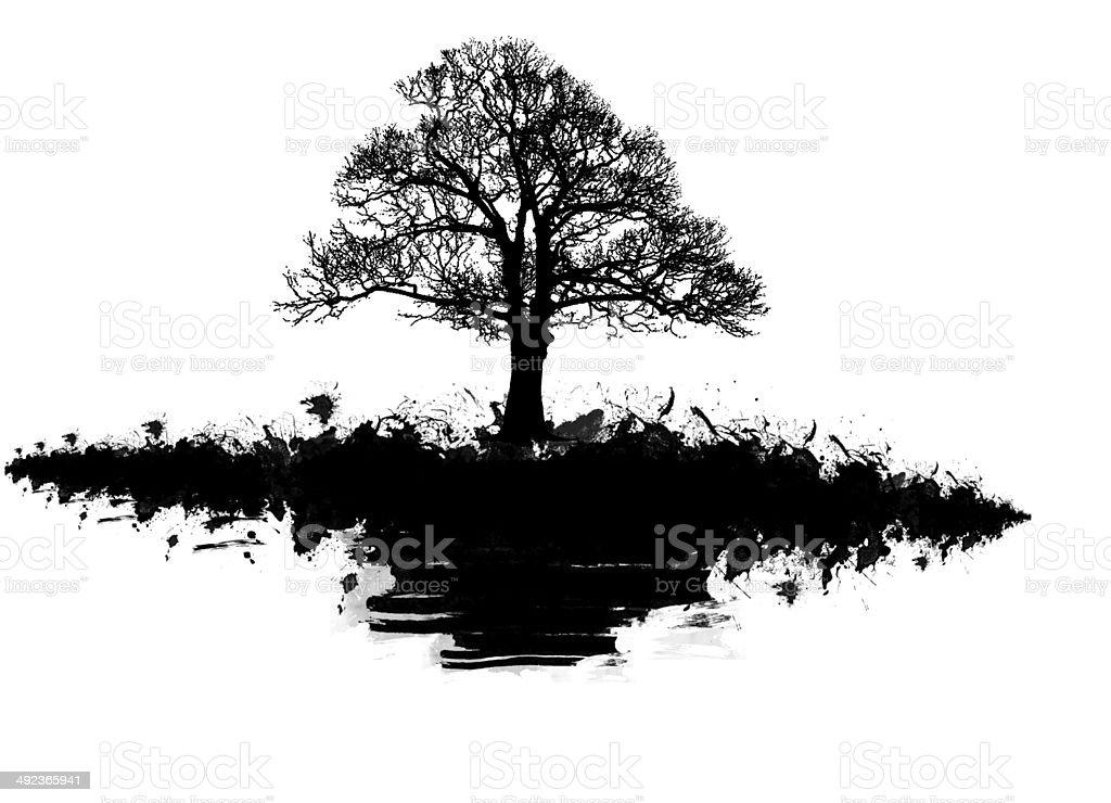 Tree vector stock photo