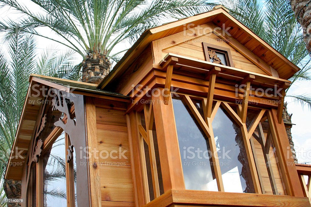 Treehouse royalty-free stock photo