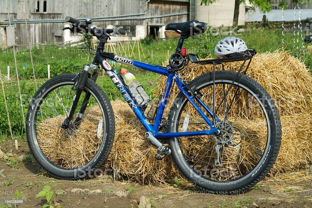 Trek Mountain Bike stock photo