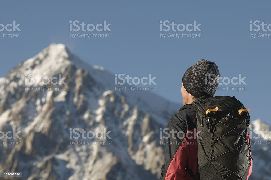treking royalty-free stock photo