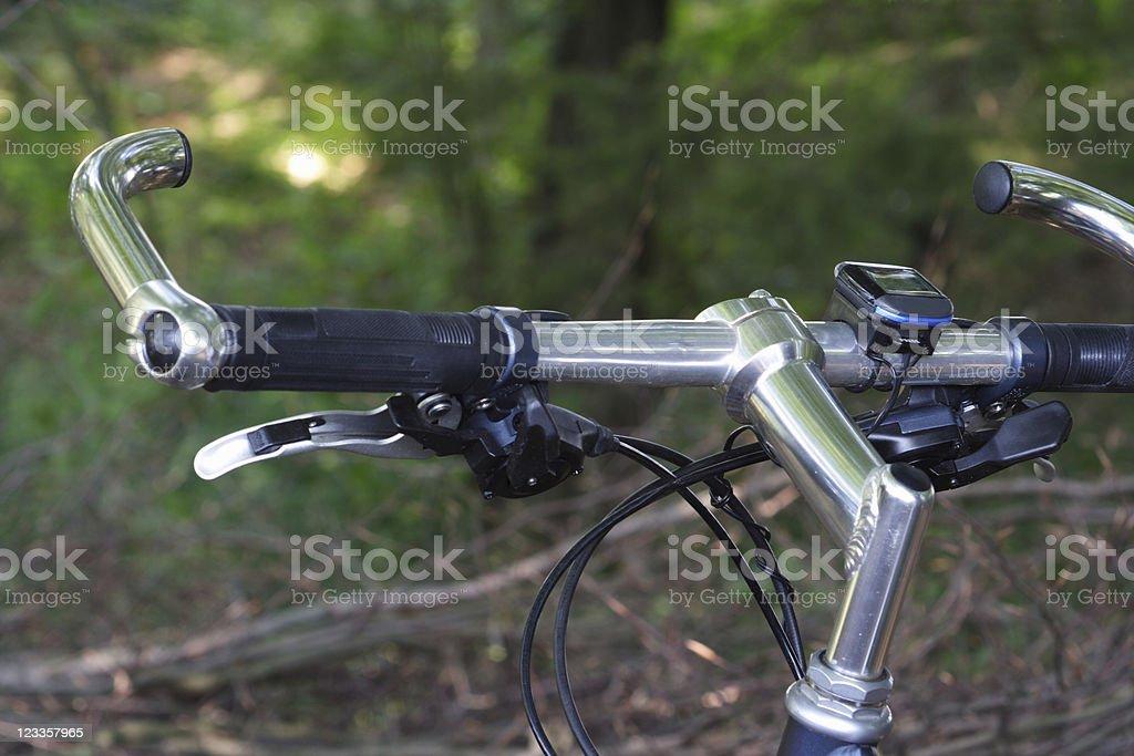 Trekking bike #3 stock photo