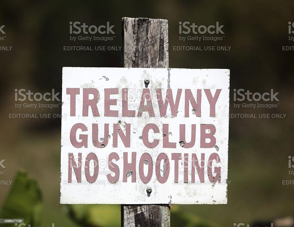 Trelawny Gun Club stock photo