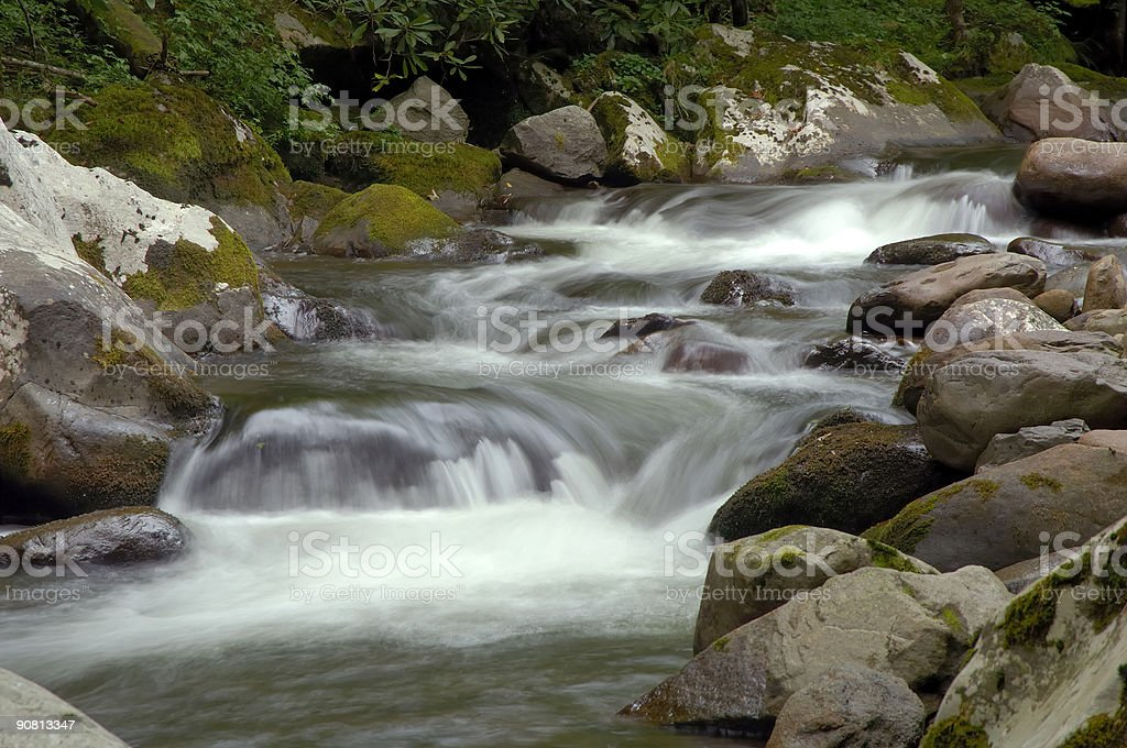 Tremont, Little Pigeon River, Great Smoky Mountains National Par stock photo