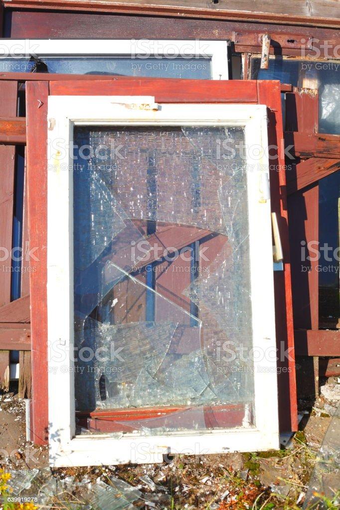 Türen und Fenster stock photo