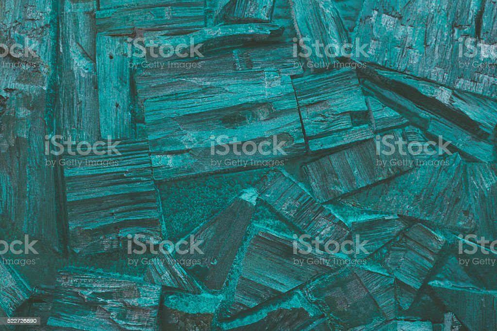 trendy background of painted wood pieces. stock photo