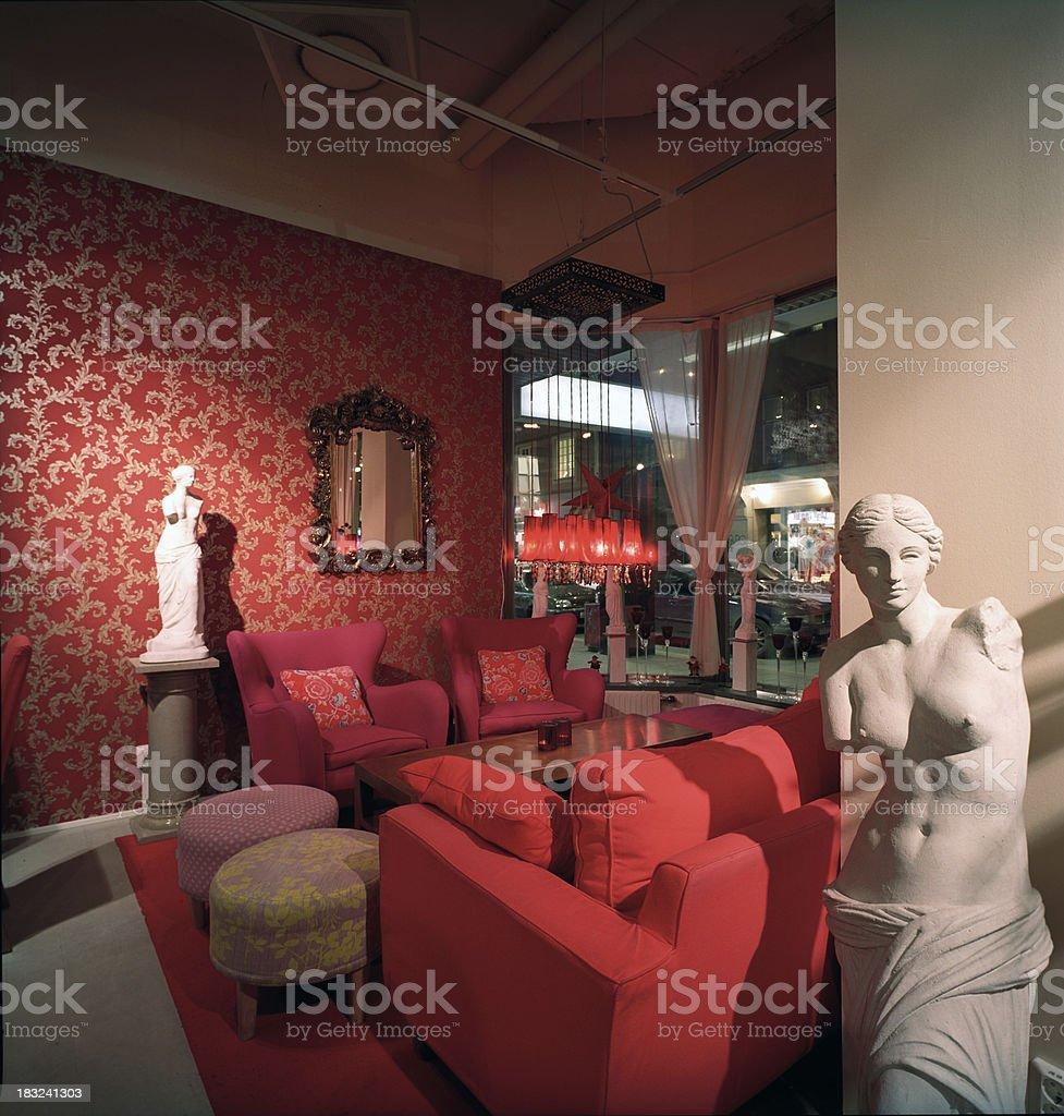 Trendy bar royalty-free stock photo