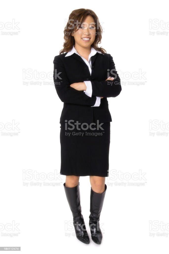 Trendy Businesswoman royalty-free stock photo