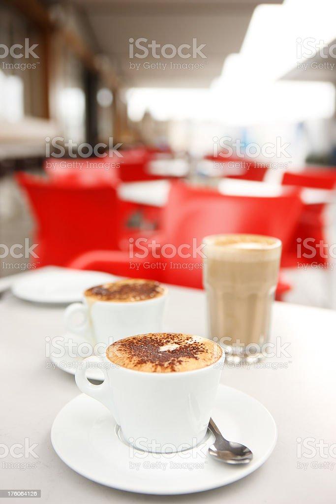 Trendy Cafe Coffee stock photo