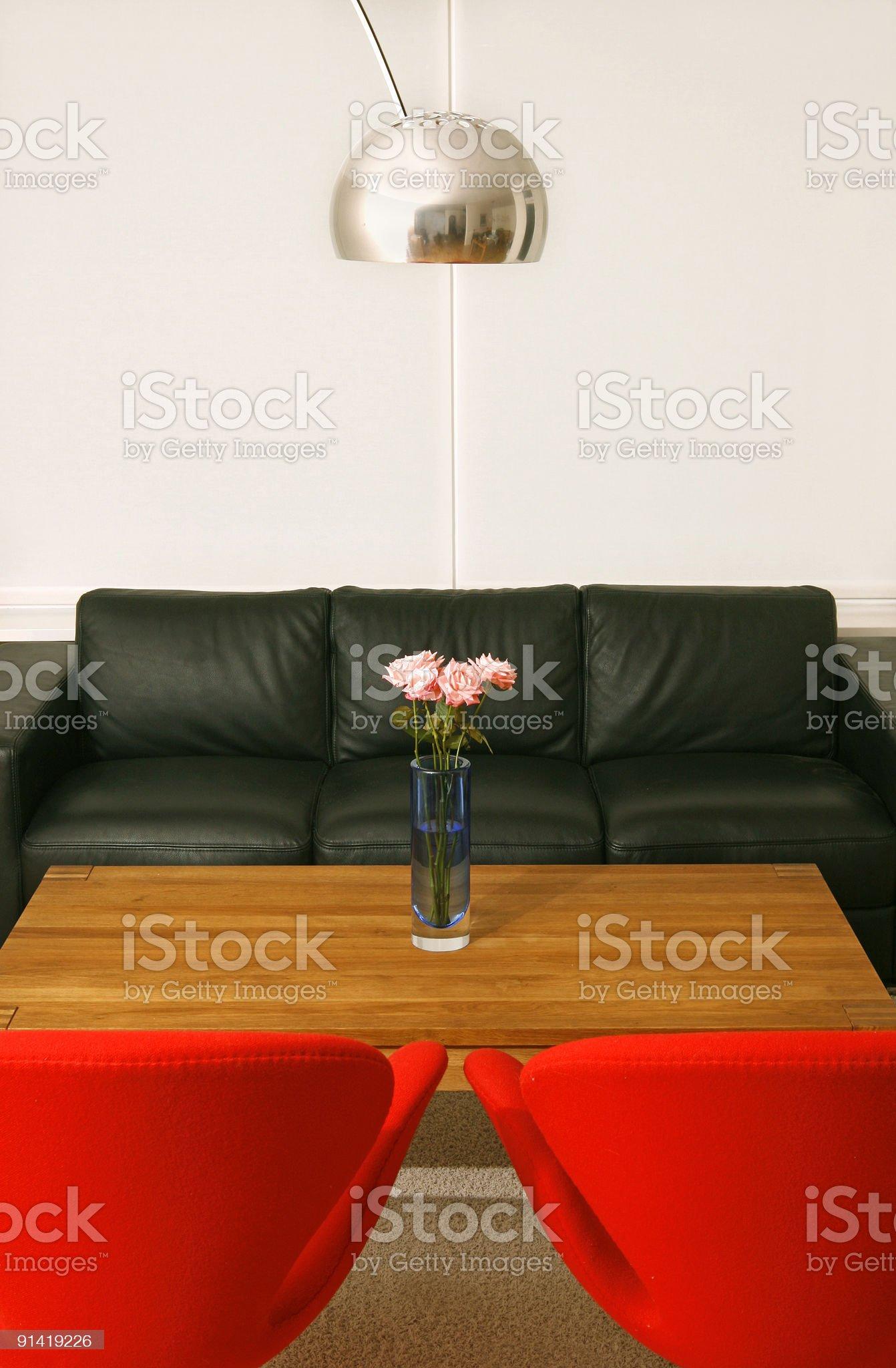 Trendy interior royalty-free stock photo
