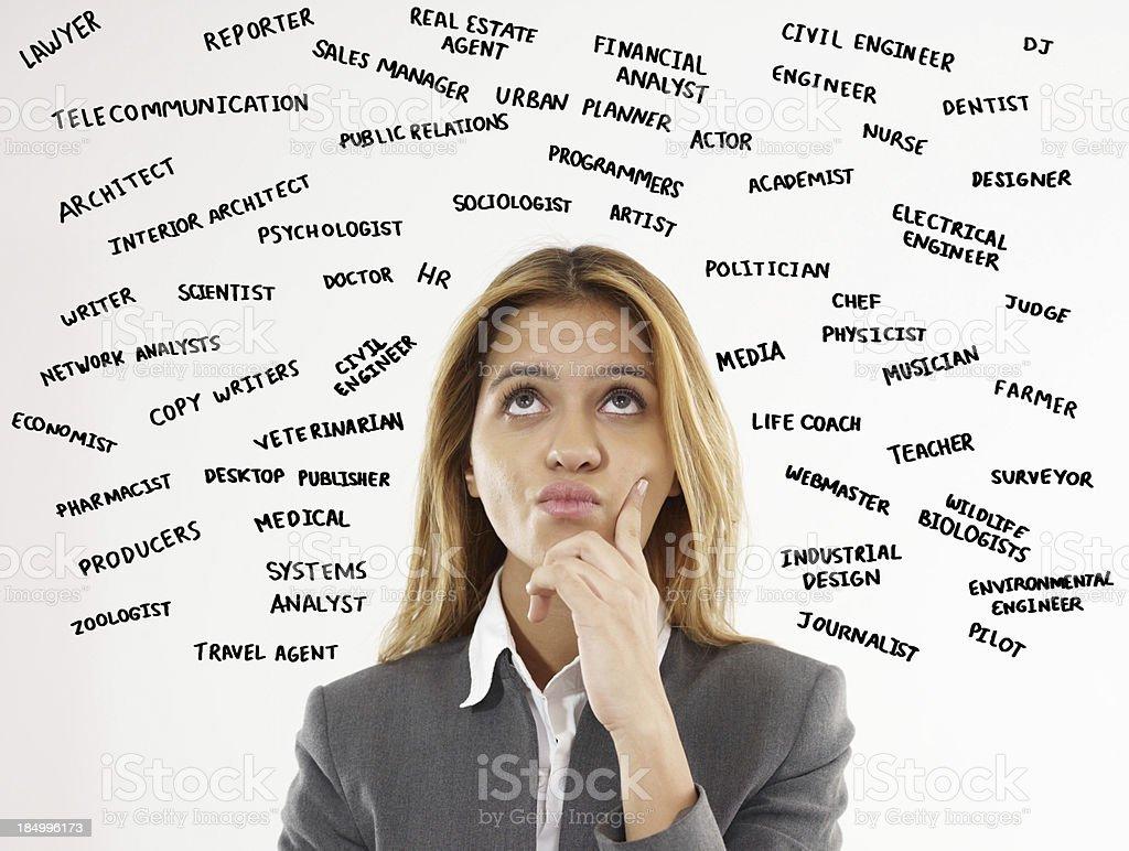 Trendy Jobs stock photo