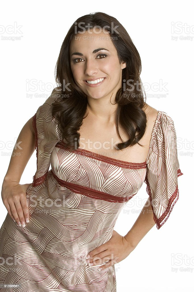 Trendy lady royalty-free stock photo