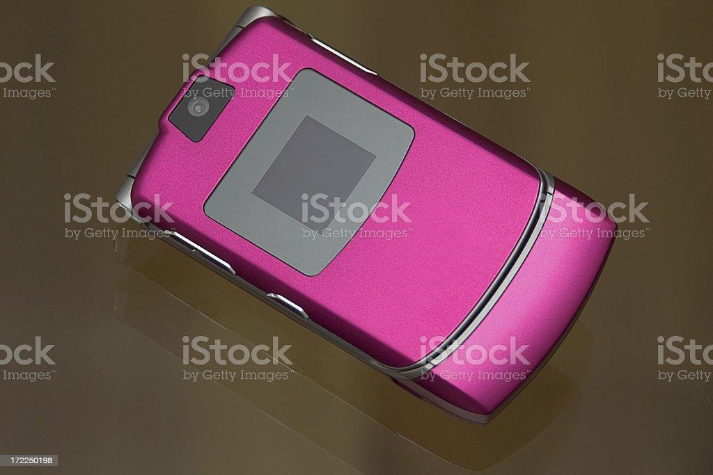 trendy mobile phone stock photo