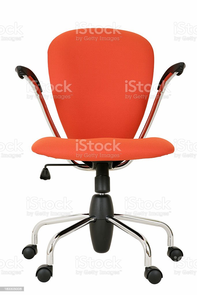 Trendy swivel chair royalty-free stock photo